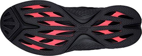 Walking On Slip 7 M 's Gowalk negro Black Women Skechers US Rush Sport 60YfXwFxqn