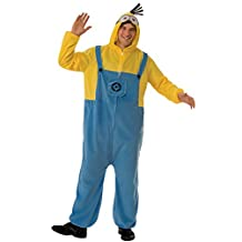 Rubies Despicable Me 3 Adult Minion Hooded Jumpsuit