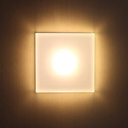 12V - 24V SUN-LED MAX 3 W LED focos lámpara de pared para escaleras, escalera, corridor,