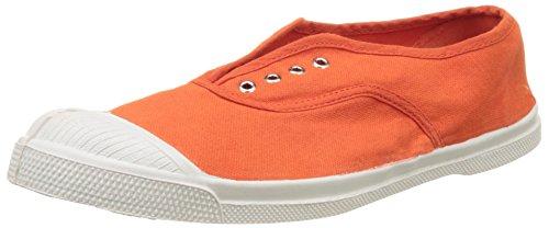 Bensimon Tennis Elly Femme, Zapatillas de Deporte de lona Mujer Naranja (Orange)