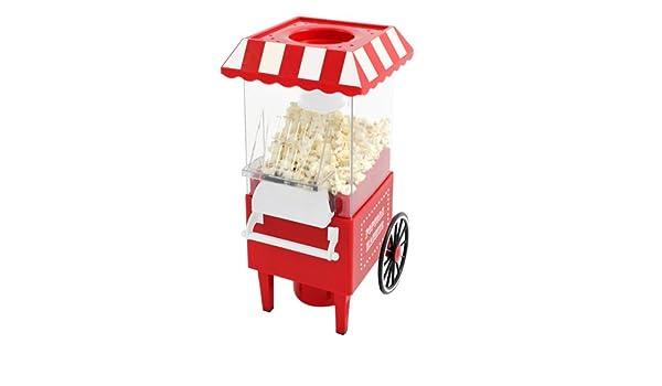 BBTrade Sales - Máquina para Hacer Palomitas (diseño de Carro de Feria Enchufe de 2 Patillas Europeo): Amazon.es: Juguetes y juegos