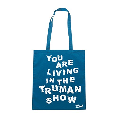 Borsa YOU ARE LIVING IN THE TRUMAN SHOW - Blu Royal - FILM by Mush Dress Your Style