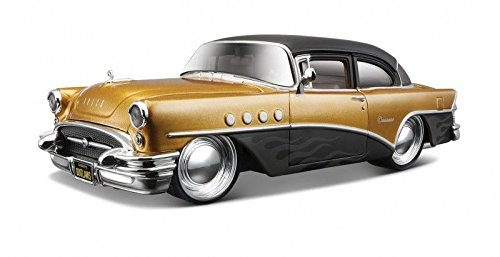 1955 Buick Century Gold/Black
