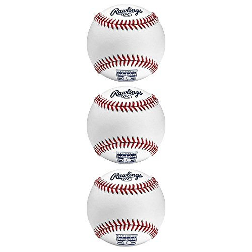 Rawlings Hall of Fame Edition Major League 3 Pack Bundle by Rawlings