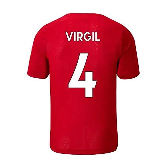 ANHPI-Jersey Virgil Van Dijk # 4 Maillot de Foot Homme - Short SleeveSport Maillots T-Shirt-Fans Shirts