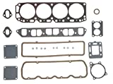 Mercruiser 140 LX Chevy MARINE 181 3.0 Full Gasket Set Head+Manifold+Oil Pan 2-PC (Before Serial #6229719)