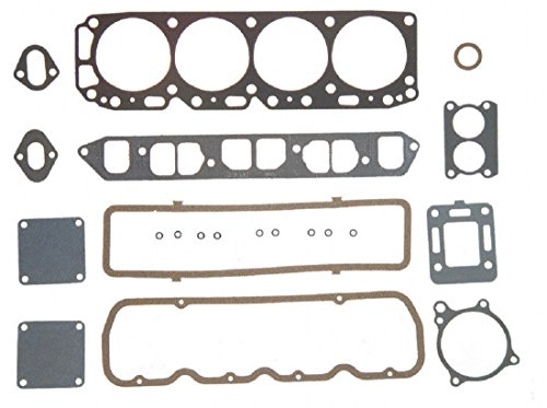 Mercruiser 140 LX Chevy MARINE 181 3.0 Full Gasket Set Head+Manifold+Oil Pan 2-PC (Before Serial - Cylinder 4 Manifold Mercruiser