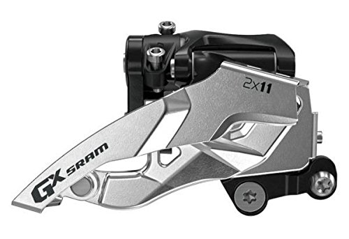 SRAM GX Bicycle Front Derailleur with 2 x 11 Low Direct Mount Top Pull