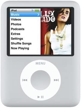 Amazon Com Apple Ipod Nano 8 Gb Silver 3rd Generation Discontinued By Manufacturer Renewed Home Audio Theater
