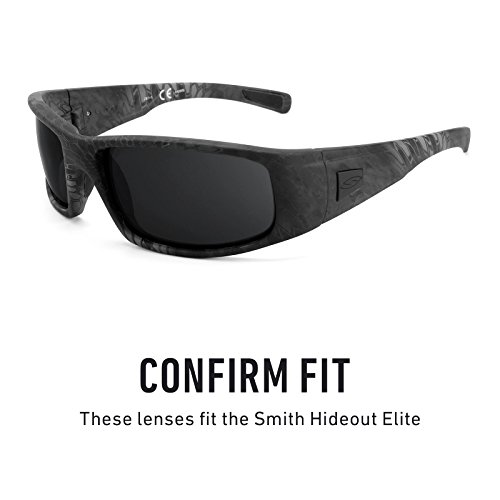 Titanio Elite de Lentes Mirrorshield Opciones Polarizados — múltiples repuesto para Hideout Smith AHzS6q