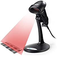 Esky USB Automatic Handheld Barcode Scanner / Reader With Free Adjustable Stand