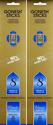 投資変動する時代遅れGonesh #8 Bonus Pack 30 sticks ガーネッシュ#8 ボーナスパック30本入 2個組 60本