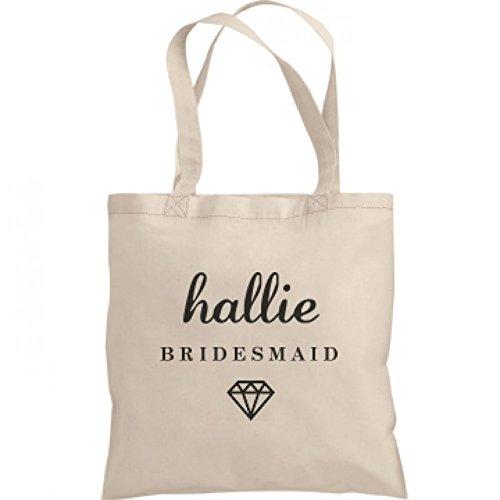 Cute Bridesmaid Hallie Gift: Liberty Bags Canvas Bargain Tote Bag