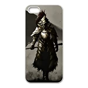 Dark Souls iPhone 4 4s Cell Phone Case White rxh qclv