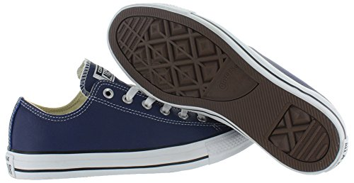 Converse Chuck Taylor All Star Adulte Seasonal Leather Ox, Baskets mode mixte adulte Victorian Blue