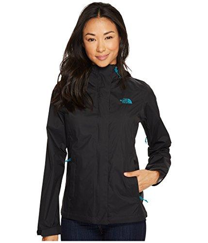 The North Face Women's Venture 2 Jacket - Black/Harbor Blue - S (Past Season)