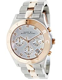 Marc by Marc Women's MBM3178 Mother-Of-Pearl Stainless-Steel Quartz Watch