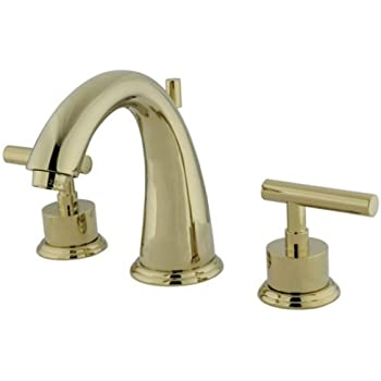 Kingston Brass Ks4982cml Concord 8 Inch Widespread Lavatory Faucet
