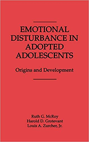 Emotionally Disturbed Students At >> Amazon Com Emotional Disturbance In Adopted Adolescents