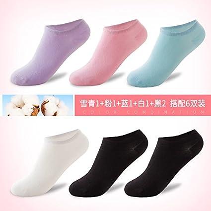 Los estudiantes stealth preciosa luz de otoño calcetines calcetines calcetines-cama mujeres coreanas Cintura baja