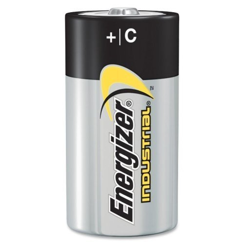 Pack of 50 Energizer Batteries EN93 C Size Industrial Alkaline Battery - Bulk Pack by Energizer