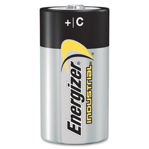 Pack of 60 Energizer Batteries EN93 C Size Industrial Alkaline Battery - Bulk Pack