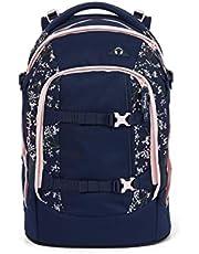 satch Pack Bloomy Breeze, ergonomischer Schulrucksack, 30 Liter, Organisationstalent, Blau