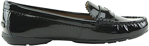 Coach Odette Casual Loafers Zwart Patent Maat 9