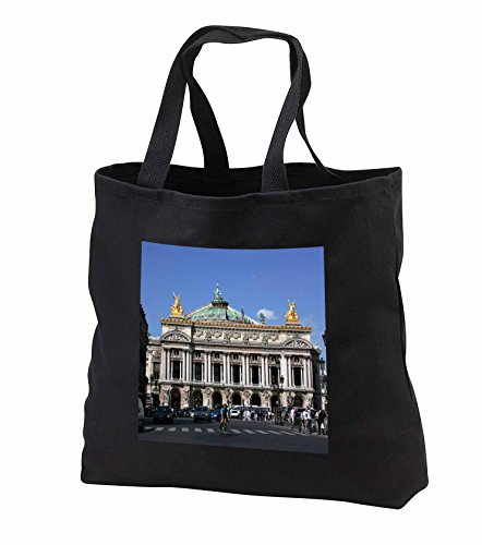 Price comparison product image 2 Travel - France - Palais Garnier Opera House in Paris, France - Tote Bags - Black Tote Bag JUMBO 20w x 15h x 5d (tb_239250_3)