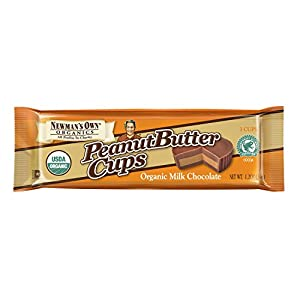 Newman's Own Organic Milk Chocolate Peanut Butter Cups, 1.2-Ounce (Pack of 16)