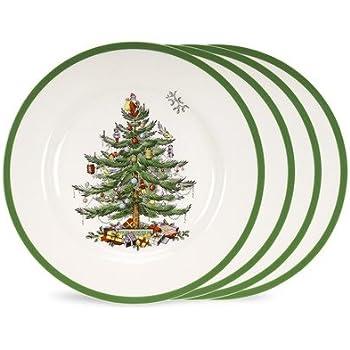Spode Christmas Tree Set of 4 Dinner Plates  sc 1 st  Amazon.com & Amazon.com | Original Christmas Tree® Traditional Dinner Plate 11 ...