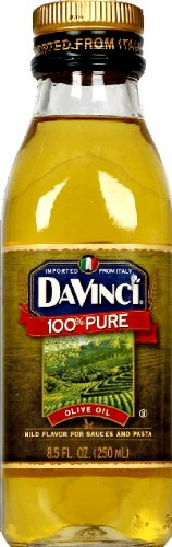 DaVinci Olive Oil 100 percent Pure 8.5 OZ (Pack of 3)