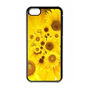 lintao diy Protection Cover Hard Case Of Sunflower Cell phone Case For Iphone 5C