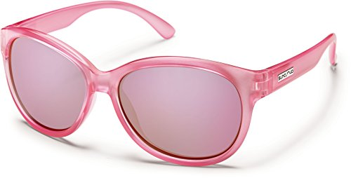 Suncloud Catnip Polarized Polycarbonate Sunglasses (Pink - For Small Suncloud Sunglasses Faces