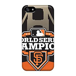Apple Iphone 5/5s MYd14488GXlb Support Personal Customs Fashion San Francisco Giants Pictures Scratch Protection Hard Cell-phone Cases -KimberleyBoyes