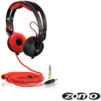 Zomo Kabel Deluxe HD 25 spiral/rot 3,5m