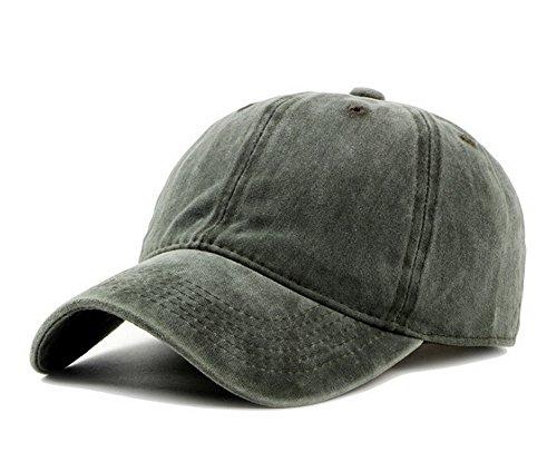Zegoo Unisex Stone Washed Cotton Baseball Cap Adjustable Size