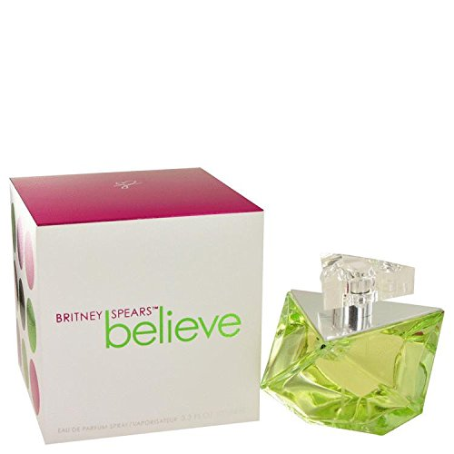 Believe by Britney Spears Eau De Parfum Spray 3.4 oz for Women - 100% Authentic