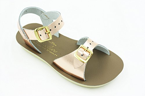 3a53865ee Salt Water Sandals by HOY Shoe Girls  Sun-San Surfer Flat Sandal ...