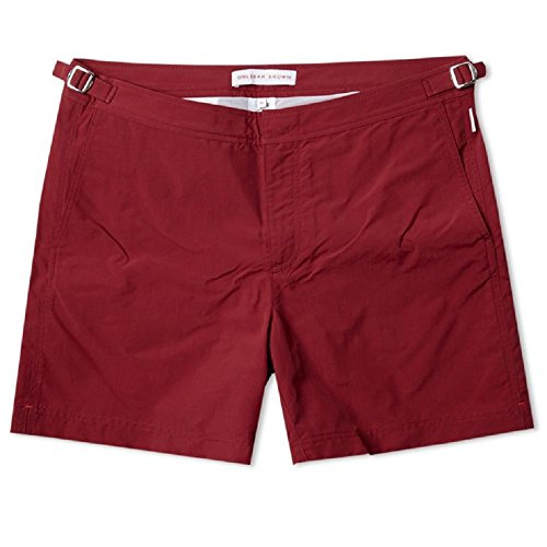 Orlebar Brown Men's Setter Swim Trunks (Brick Red) - - Orlebar And Brown