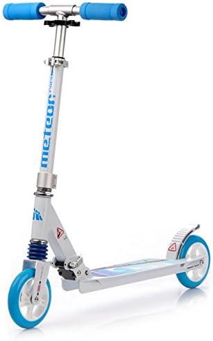 METEOR® RACER Scooter para adultos y niños mayores de 3 años | Plegable | Patinete