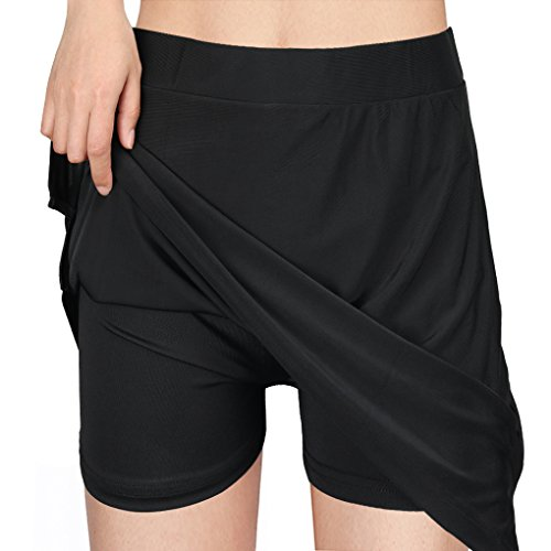 Topfire Women Active Athletic Skorts/Capri/Long Skirt Lightweight Quick Dry Skirt Sports Running Tennis Golf Workout