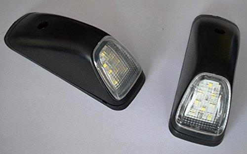 2/x Blanco 8LEDs luces de techo trasera Corner Marker laterales 24/V Chasis de cami/ón cami/ón remolque 4/x 4/SUV