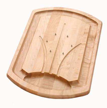 amazon com j k adams 20 inch by 14 inch maple wood carving board