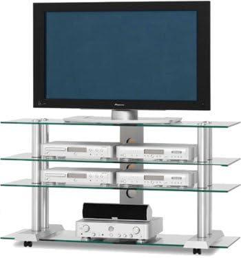 Triple Capa AV Rack y Profesional Plasma/LCD Sistema de Montaje Soporte para para Panasonic Viera TH50PX60 de televisión Digital HD Ready de Plasma, 50 Pulgadas: Amazon.es: Electrónica