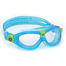 Aqua Sphere Kid's Seal Kid 2 Goggles with Clear Lens, Aqua by Aqua Sphere