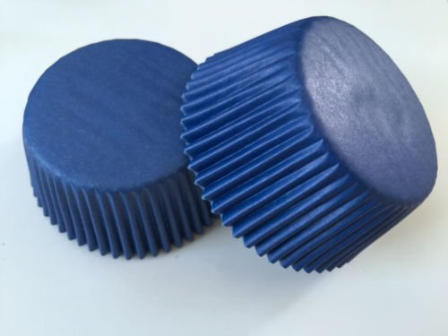 50 count Royal Blue Cupcake Liners Liner for Standard Size Cupcakes