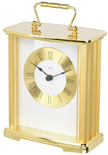 New Haven Brass Anniversary Carriage Clock