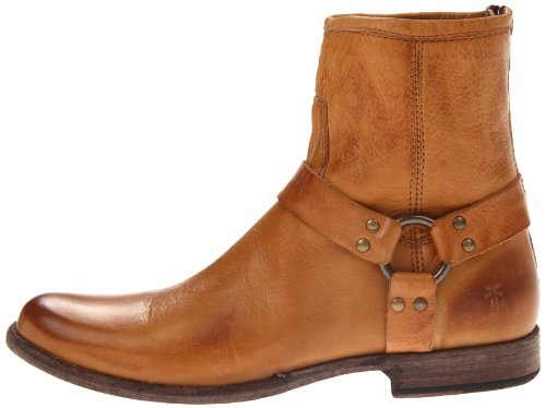 Pictures of FRYE Women's Phillip Harness Ankle Boot Grey 4