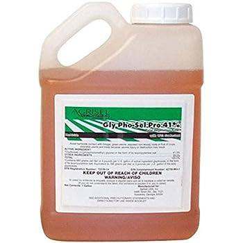 Amazon.com : Agrisel USA Glyphosate Pro Herbicide 2.5